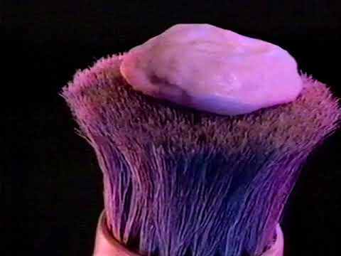The Gillette Brush Plus, from a 1985 commercial